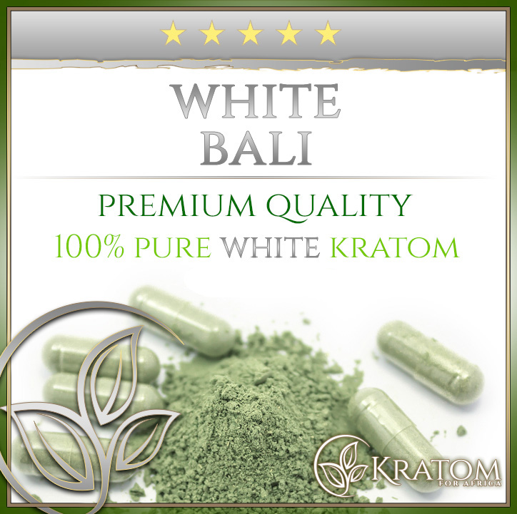 White Bali Kratom Capsules And Powder Kratom For South Africa