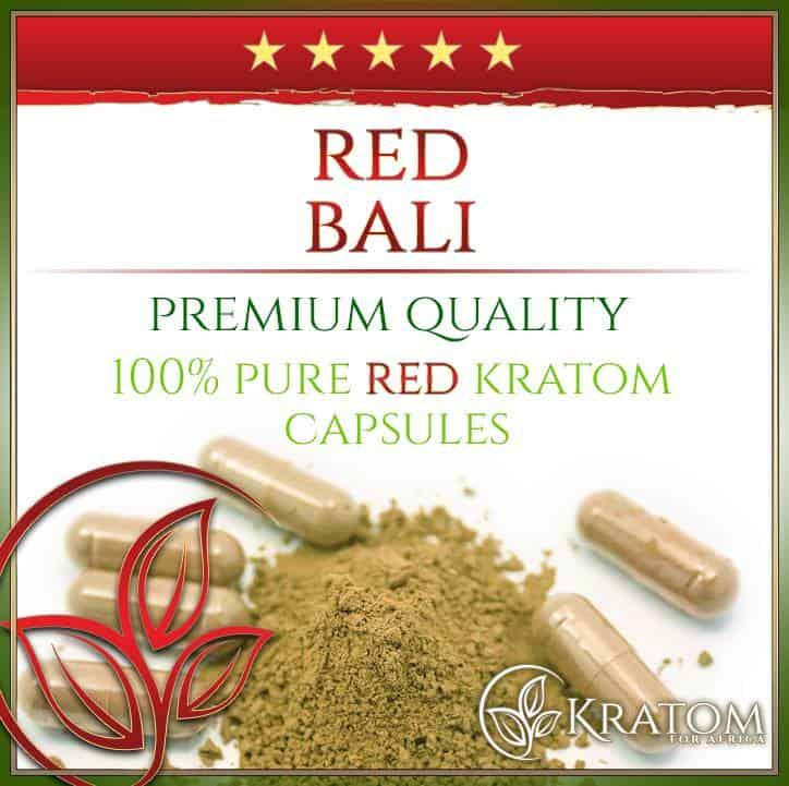 Red Bali Kratom Capsules