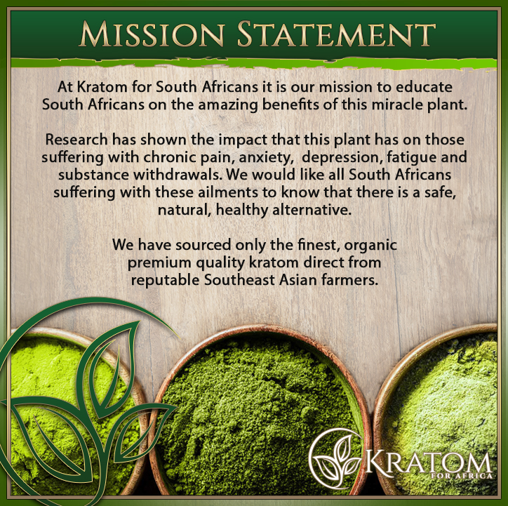 Kratom Mission Statement
